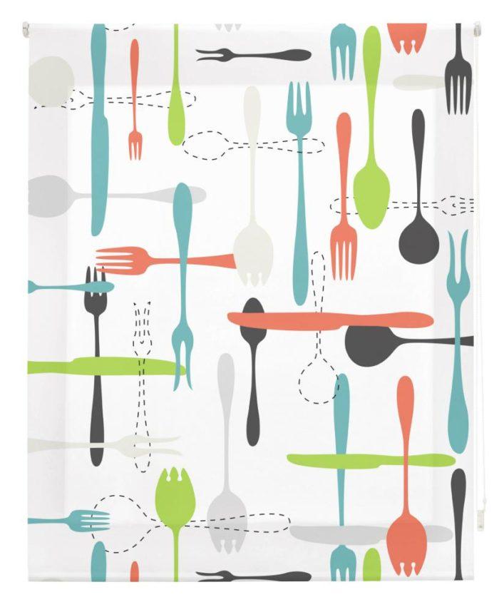 Estor Enrollable Happystor Estampado Digital Cocina HSCC82159